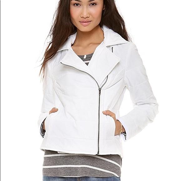 Splendid Jackets & Blazers - NWT Splendid Sierra Puffer Moto Jacket